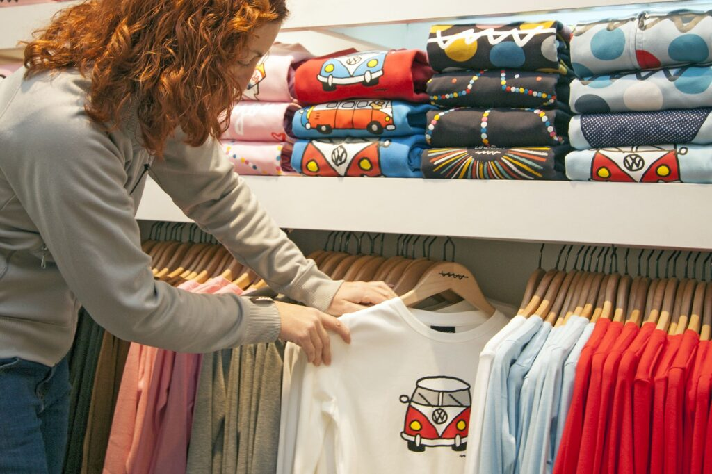 Direct to garment printing customization